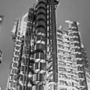 The Lloyd's Building - London Art Print