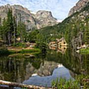 The Loch - Rocky Mountain National Park Art Print