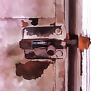 The Lock II Art Print