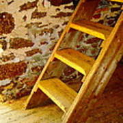 The Loft Steps Art Print