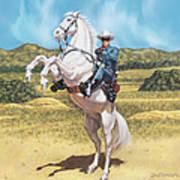 The Lone Ranger Art Print