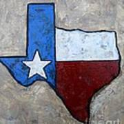 The Lone Star State Art Print