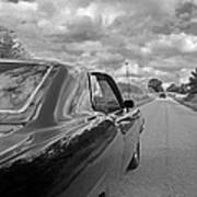 The Long Road Home - Ford Torino Cobra Jet Art Print