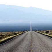 The Lonliest Road In America Art Print