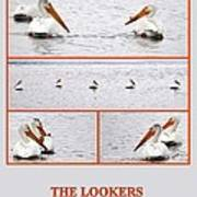 The Lookers Art Print