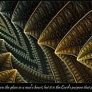 The Lord's Purpose Art Print
