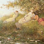 The Lotus Eaters, 1893 Art Print