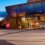 The Lowry Complex At Dusk, Salford Art Print