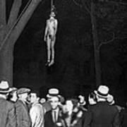 The Lynching Of A Murderer Art Print