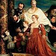 The Madonna Of The Cuccina Family Art Print