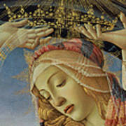 The Madonna Of The Magnificat Art Print