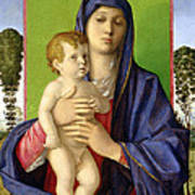 The Madonna Of The Trees Art Print by Giovanni Bellini