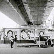 The Madras Street Art Print