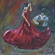 The Magic Of Dance Art Print