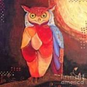The Magical Mystical Owl Art Print