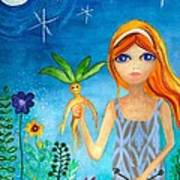The Magicians Daughter Art Print