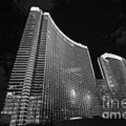 The Magnificent Aria Resort And Casino At Citycenter In Las Vegas Art Print