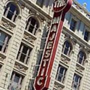 The Majestic Theater Dallas #2 Art Print