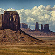 The Majesty Of Monument Valley  Art Print