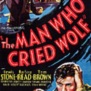 The Man Who Cried Wolf, Us Poster Art Print