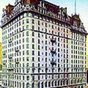 The Manhattan Hotel In New York City 1897 Art Print