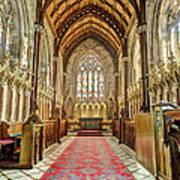 The Marble Church Interior Art Print