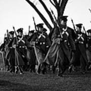 The March Begins Inauguration2013 Art Print