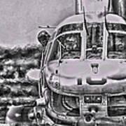 The Marine Crew Chief Art Print