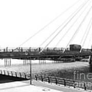 The Marine Road Bridge Southport 2 Art Print