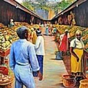 The Market Place Art Print