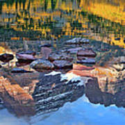 The Maroon Bells Reflected Art Print