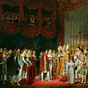 The Marriage Of Napoleon I 1769-1821 And Marie Louise 1791-1847 Archduchess Of Austria, 2nd April Art Print