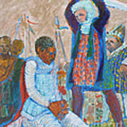 The Martydom Of St Maurice Art Print