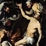 The Martyrdom Of Saint Lawrence Art Print by Jusepe de Ribera