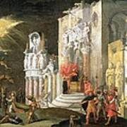 The Martyrdom Of St. Catherine, 17th Art Print