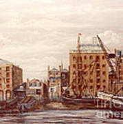 The Mayfloer Pub Rotherhithe London Art Print