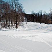 The Mccauley Mountain Ski Area Art Print