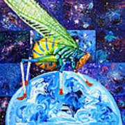 The Meek Shall Inherit The Parallel Universes Art Print