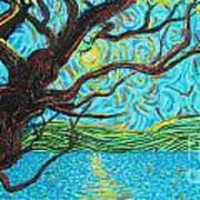 The Mermaid Tree Art Print