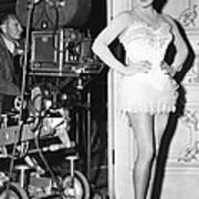The Merry Widow, Lana Turner On Set Art Print