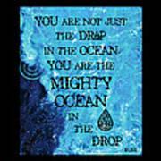 The Mighty Celtic Ocean Art Print