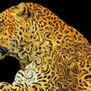 The Mighty Panthera Pardus Art Print