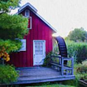 The Mill At Kimberton Art Print