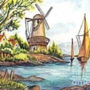 The Olde Mill Art Print