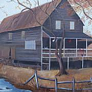 The Mill Art Print by Glenda Barrett