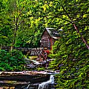 The Mill Paint 2 Print by Steve Harrington