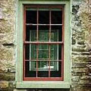 The Mill Window  Art Print