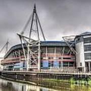 The Millennium Stadium Art Print