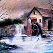 The Millstream Art Print