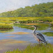 The Millway Marsh Art Print